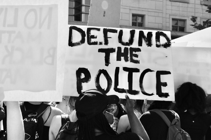 defunding the police equals less diversity and training