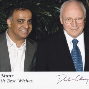 dr kazmir and vice president dick cheney