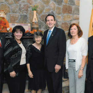 dr kazmir bergen county executive kathe donvan and governor pawlenty