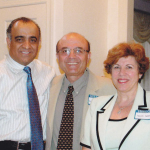dr kazmir with dr haddad and his wife