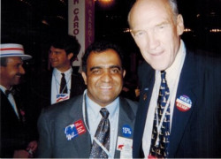 1996 republican convention with senator sampson