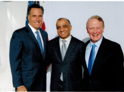 congressmen lance and congressmen romney with dr kazmir