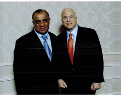 dr kazmir with john mccain