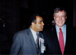 dr kazmir with steve forbes