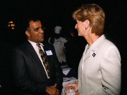 former nj governor christie whitman and dr kazmir