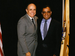 former ny mayor giuliani and dr kazmir