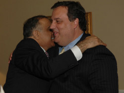 governor chris christie and dr kazmir
