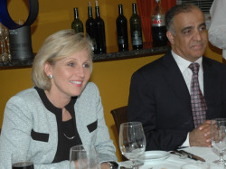 governor kim guadagno and dr kazmir