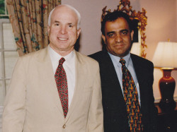 john mccain and dr kazmir