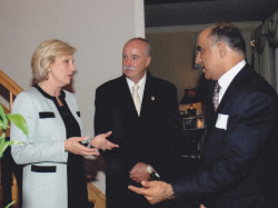 lt governor kim guadagno and dr kazmir