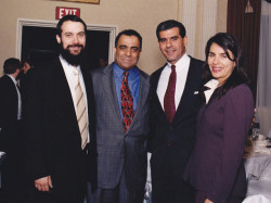 rabbi herson dr kazmir senator joe kyrillos and susan kyrillos