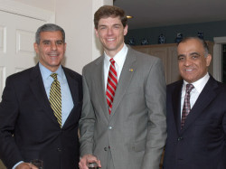 senator joe kyrillos state assemblyman jay webber from morristown and dr kazmir