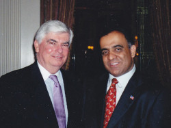 united states senator chris dodd and dr kazmir