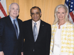 us senator john mccain dr kazmir and mrs mccain