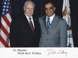 vice president dick cheney and dr kazmir