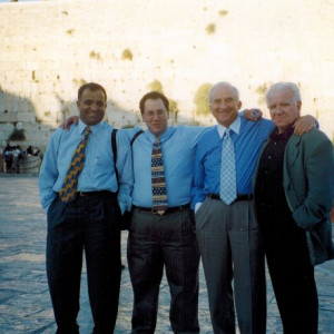 1997 at the western wall
