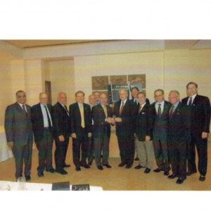 dr kazmir with israeli leaders