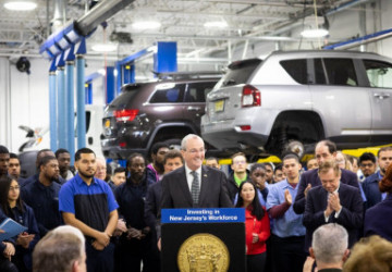 Newark and New Jersey Governor Phil Murphy Are Open for Business