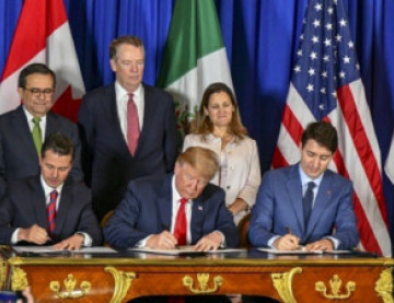 Trump Delivers on Campaign Promise to Upgrade NAFTA with New Trade Deal