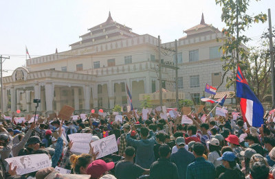 Myanmar At the Boiling Point