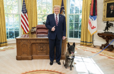 Top Dog Receives Top Honors at the White House