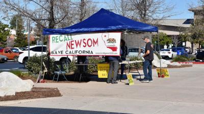 Facing a Tough Recall, Newsom Doesn't Dare Close California