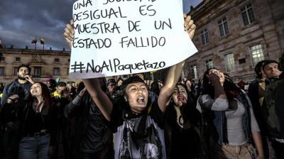 Upheaval in Columbia, Peru and Nicaragua Test the Biden Admin